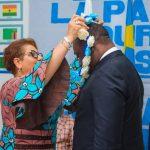 Élevé «Notable universel de la paix», le philanthrope Guy Loando reçoit sa  couronne